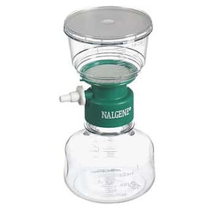 Nalgene® 125-0080 150mL Rapid-Flow Filter Complete Unit, 0.8um, Sterile, 50mm, case/12