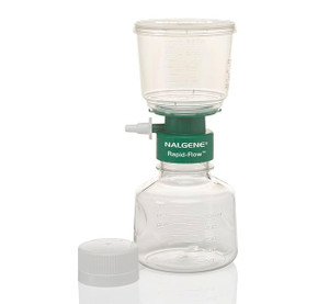 Nalgene® 126-0080 250mL Rapid-Flow Filter Complete Unit, CN, 0.8um, Sterile, 50mm, case/12