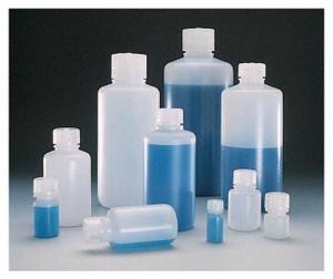 Nalgene® 2002-0006 Boston Round Bottles, 6 oz HDPE with PP Screw Caps, 24-415, case/72