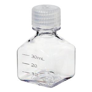 Nalgene® 2015-0030 Square Bottles, Polycarbonate, 1 oz, case/96