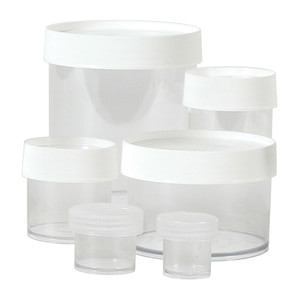 Nalgene® Polypropylene Jars, 2 oz Straight Sided, case/48