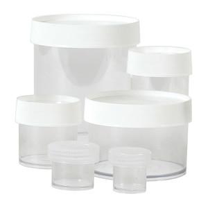 Nalgene® Polypropylene Jars, 16 oz, Straight Sided, case/24