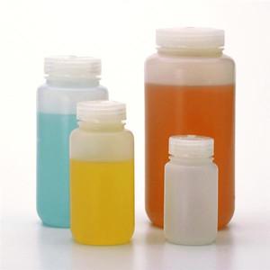 Nalgene® 2197-0004 Fluorinated Bottles, Wide-Mouth, HDPE, 4 oz (125mL), case/72