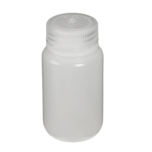 Nalgene® 2199-0004 IP2 Passport HDPE, Wide Mouth Bottles, 4 oz (125mL), case/72