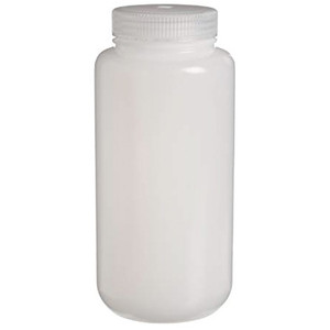 Nalgene® IP2 Passport HDPE, Wide Mouth Bottles, 8 oz (250mL), case/72