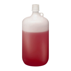 Nalgene® 2202-0010 LDPE Bottles, 4 Liter Narrow Mouth 38-430 closure, case/6