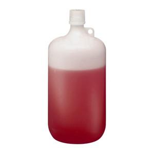 Nalgene® 2202-0010 LDPE Bottles, 4 Liter Narrow Mouth 38-430 closure, case/6