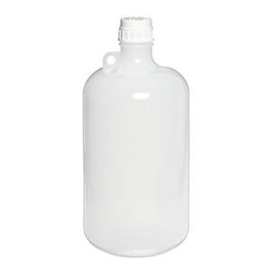 Nalgene® Autoclavable Bottles, 8 Liter Narrow Mouth Polypropylene, case/6
