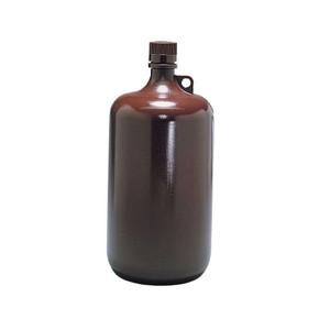 Nalgene® 2204-0010 Autoclavable Bottles, 4 Liter Amber PP, case/6