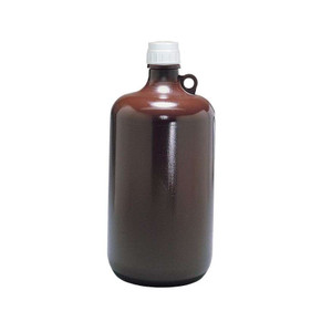 Nalgene® Autoclavable Bottles, 8 Liter Opaque Amber Polypropylene, case/6
