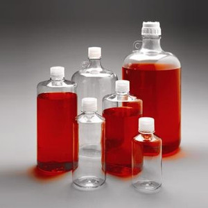 Nalgene® Polycarbonate Bottles, Narrow Mouth 500mL, case/24