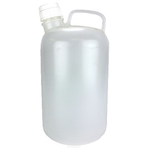 Nalgene® 2220-0020 Jugs, handle, 8 Liter LDPE, Cap 53B, case/6