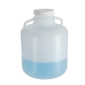 Nalgene® Carboy, Handles, 15 Liter LDPE, 100-415 Screw Cap, case/6