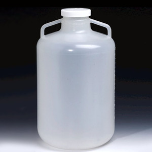 Nalgene® Autoclavable Wide Mouth Carboys, 20 Liter Polypropylene, case/4