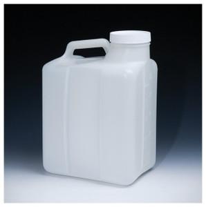Nalgene® 2241-0050 Jugs, Heavy Duty Wide Mouth HDPE, 20 Liter, case/4