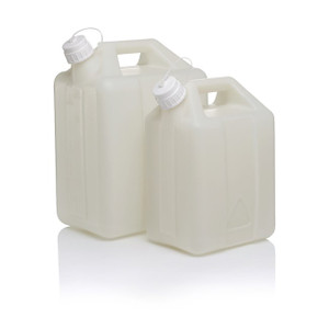 Nalgene® 2242-0025 Fluorinated Jerrican, FLPE 10 Liter, case/6