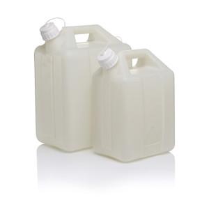 Nalgene® 2242-0050 Fluorinated Jerrican, FLPE 20 Liter, case/4