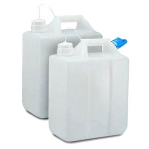 Nalgene® 2243-0013 Jerrican, Graduated HDPE, 13 Liter, 53B closure, case/4