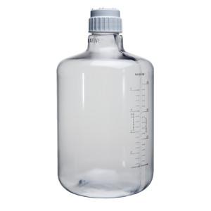 Nalgene® Polycarbonate Carboys, 20 Liter Clear Boy, Cap 83B, case/4