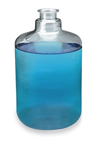"Nalgene® 2261-0050 Carboys, Polycarbonate Clear boy w/3"" Sanitary Neck, 20 Liter, case/4"