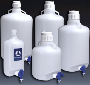 Nalgene® 2318-0020 Carboy with Spigot, LDPE, 10L, case/6