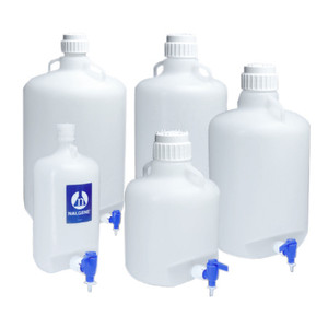 Nalgene® 2319-0130 Autoclavable Carboy with Spigot, PP, 50 Liter