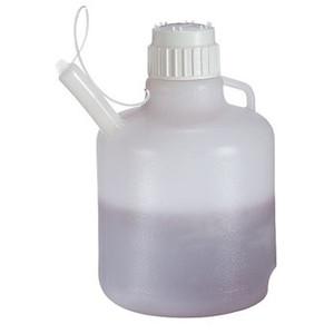 Nalgene® 2340-0020 Safety Dispensing Jug, LDPE, 10L, case/4