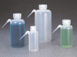 Nalgene® Wash Bottles, 16 oz (500mL) Wide Mouth LDPE, Unitary, case/24
