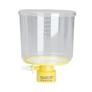 Nalgene® 291-4520 500mL Rapid-Flow Bottle Top Filter 0.2um, SFCA, 45mm neck, case/12