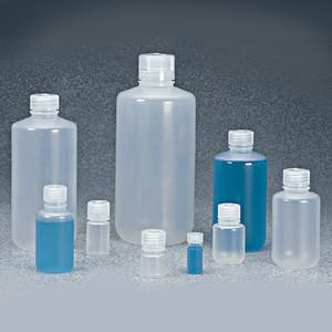 Nalgene® Bulk Boston Rounds, 16 oz, Autoclavable Polypropylene Bottles, case/125