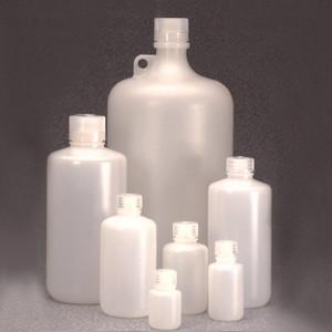 Nalgene® 312099-0004 Bulk Heavy Duty HDPE, IP2 Packaging Bottles, 4 oz (125mL), case/500