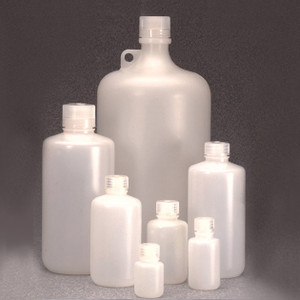 Nalgene® 312099-0032 Bulk Heavy Duty HDPE, IP2 Packaging Bottles, 32 oz (1000mL), case/50