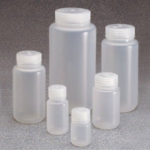 Nalgene® 312105-0032 32 oz, Wide Mouth PP Bottles, 63-415, case/50