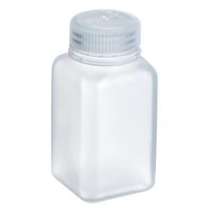 Nalgene® 312110-0008 8 oz Wide Mouth Square PP Bottles, 43-415, case/250