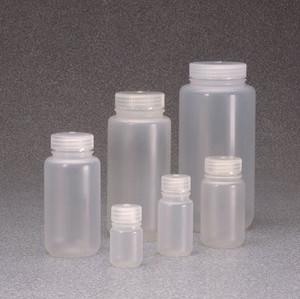 Nalgene® Packaging Bottles, Wide Mouth, Polypropylene, 4 oz (125mL), case/500