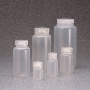 Nalgene® 312187-0004 Packaging Bottles, Wide Mouth, PP, 4 oz (125mL), case/500