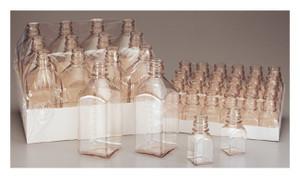 Nalgene® 342024-0500 500mL PETG Sterile Square Media Bottles, No Caps, case/40