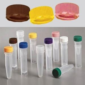 Nalgene® 342821-0110 11mm Low Profile Caps for Micro Packaging Vials, Sterile, case/1000