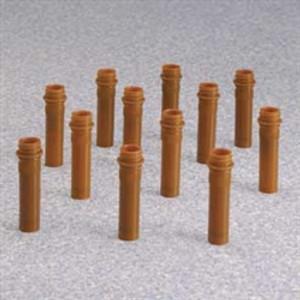 Nalgene® 362805-0020 2mL Amber Micro Packaging Vials, PPCO, No Caps, case/1000