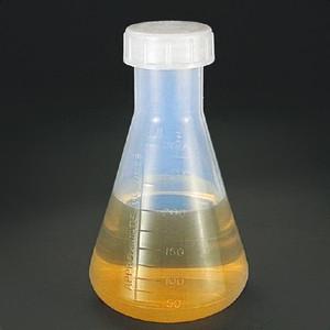 Nalgene® 4106-0125 125mL Plastic Top Flask, Lid, Autoclavable FEP, case/4