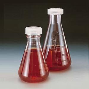 Nalgene® 4108-0250 250mL Erlenmeyer Flasks, Polycarbonate, Screw Top, case/12