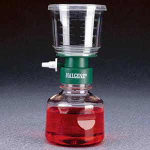 Nalgene® 450-0080 500mL Filter Unit, CN Membrane, Sterile, 0.8um, case/12