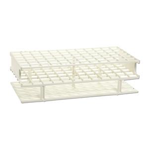 Nalgene® 5970-0013 Test Tube Rack, Autoclavable, White, 13mm tubes, case/8