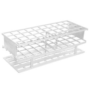 Nalgene® 5970-0025 Test Tube Rack, Autoclavable, White, 25mm tubes, case/8