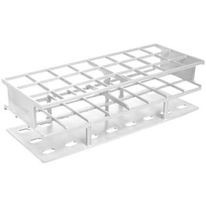 Nalgene® 5970-0030 Test Tube Rack, Autoclavable, White, 30mm tubes, case/8