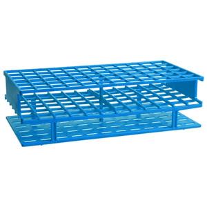 Nalgene® 5970-0313 Test Tube Rack, Autoclavable, Blue, 13mm tubes, case/8