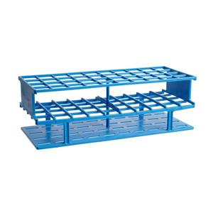 Nalgene® 5970-0325 Test Tube Rack, Autoclavable, Blue, 25mm tubes, case/8