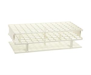 Nalgene® 5976-0016 Test Tube Rack, Unwire, White, PP 16mm, case/8