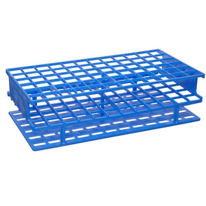 Nalgene® 5976-0316 Test Tube Rack, Unwire, Blue, PP 16mm, case/8