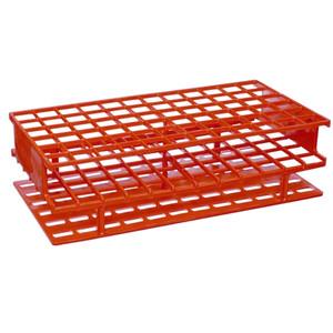 Nalgene® 5976-0513 Test Tube Rack, Unwire, Red, PP 13mm, case/8